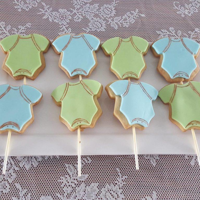 Babyshower sweet table koekjes