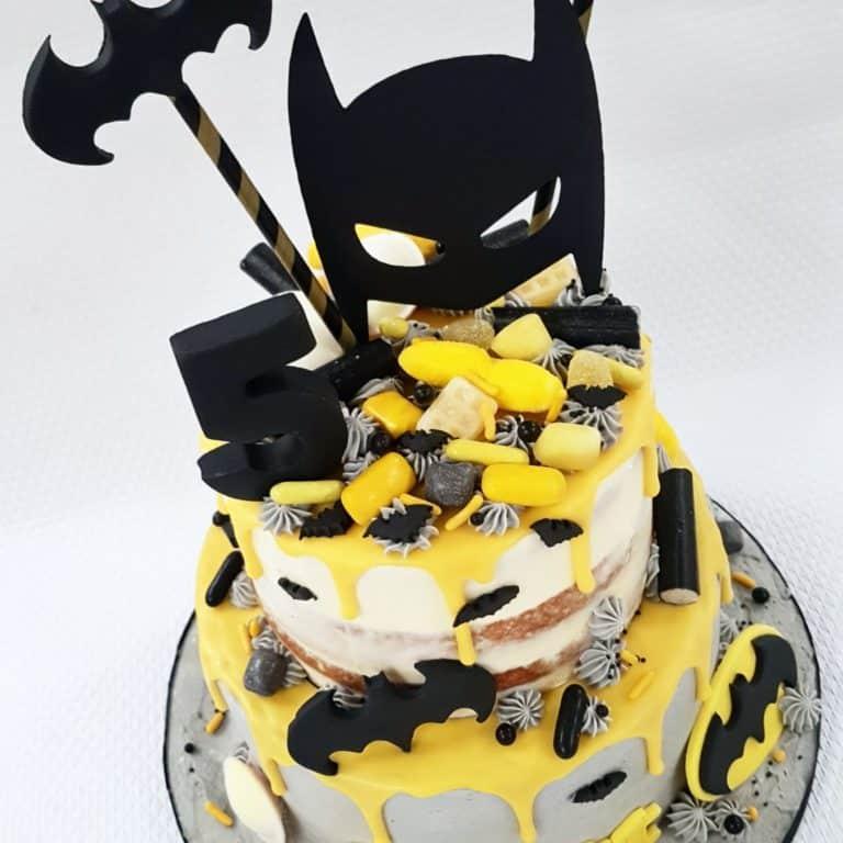 Batman taart Scott